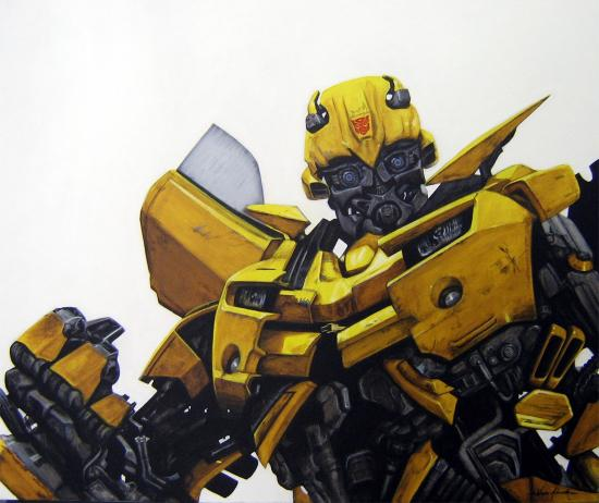 Bumblebee by Evarcha